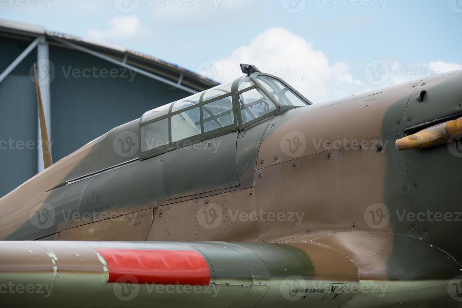 Hawker Hurricane cockpit photo