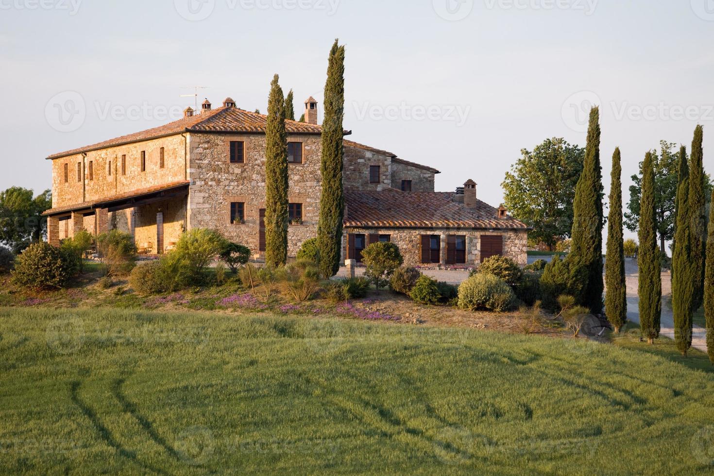 tuscany landscapes photo
