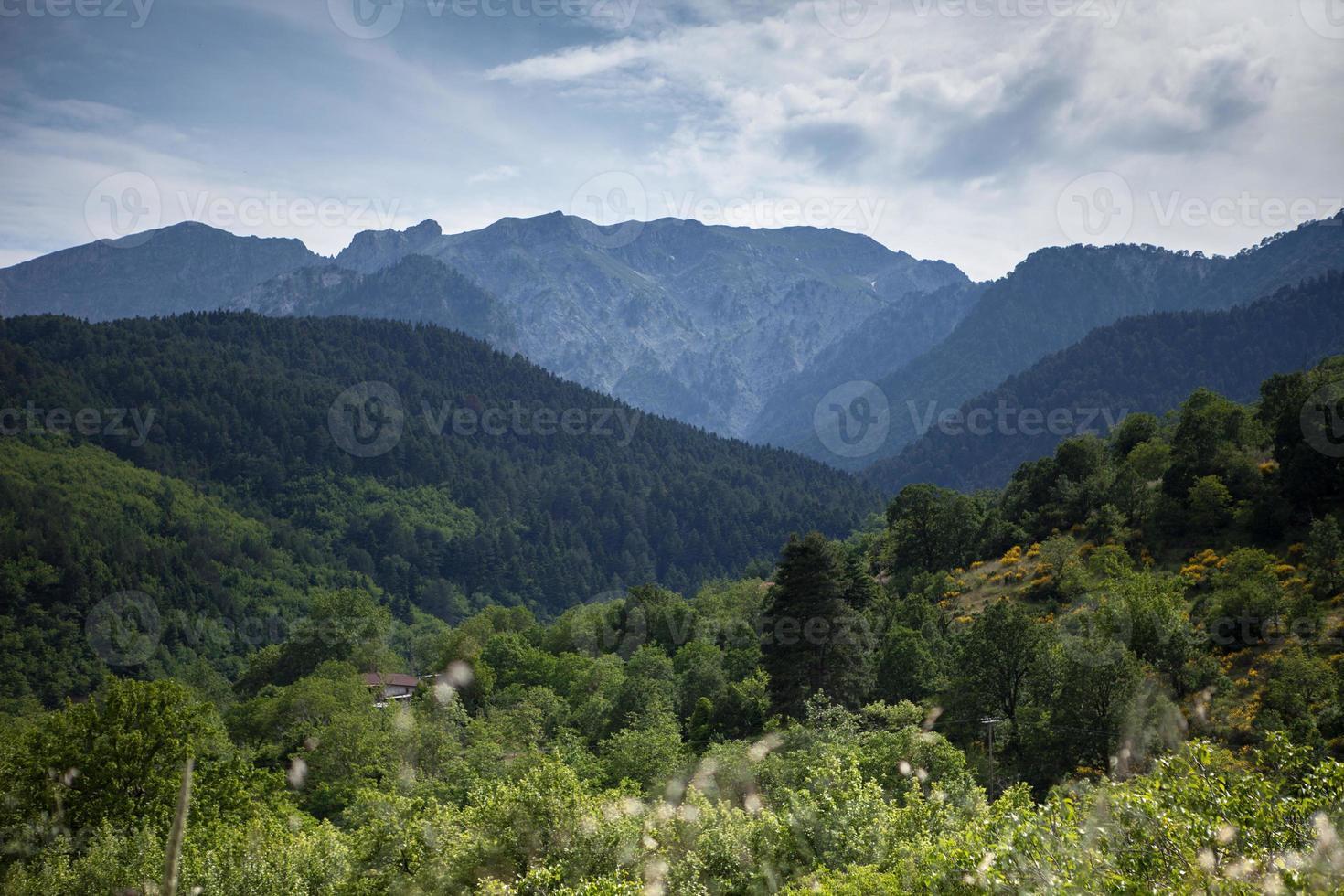 Landscape in Greece photo
