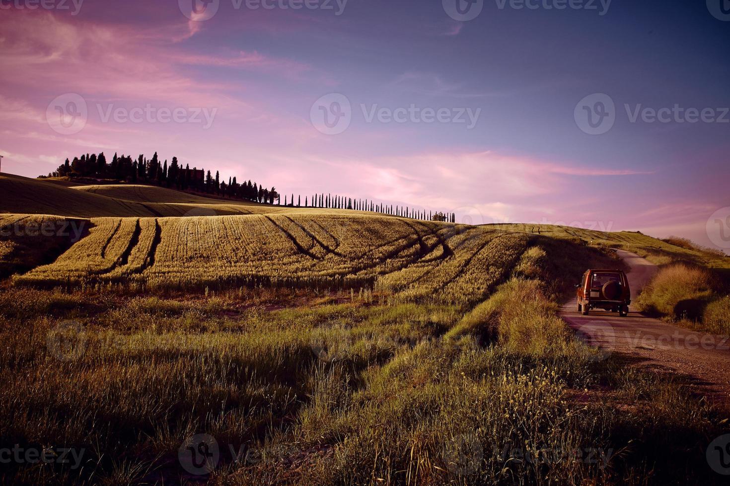 Landscape of Tuscany photo