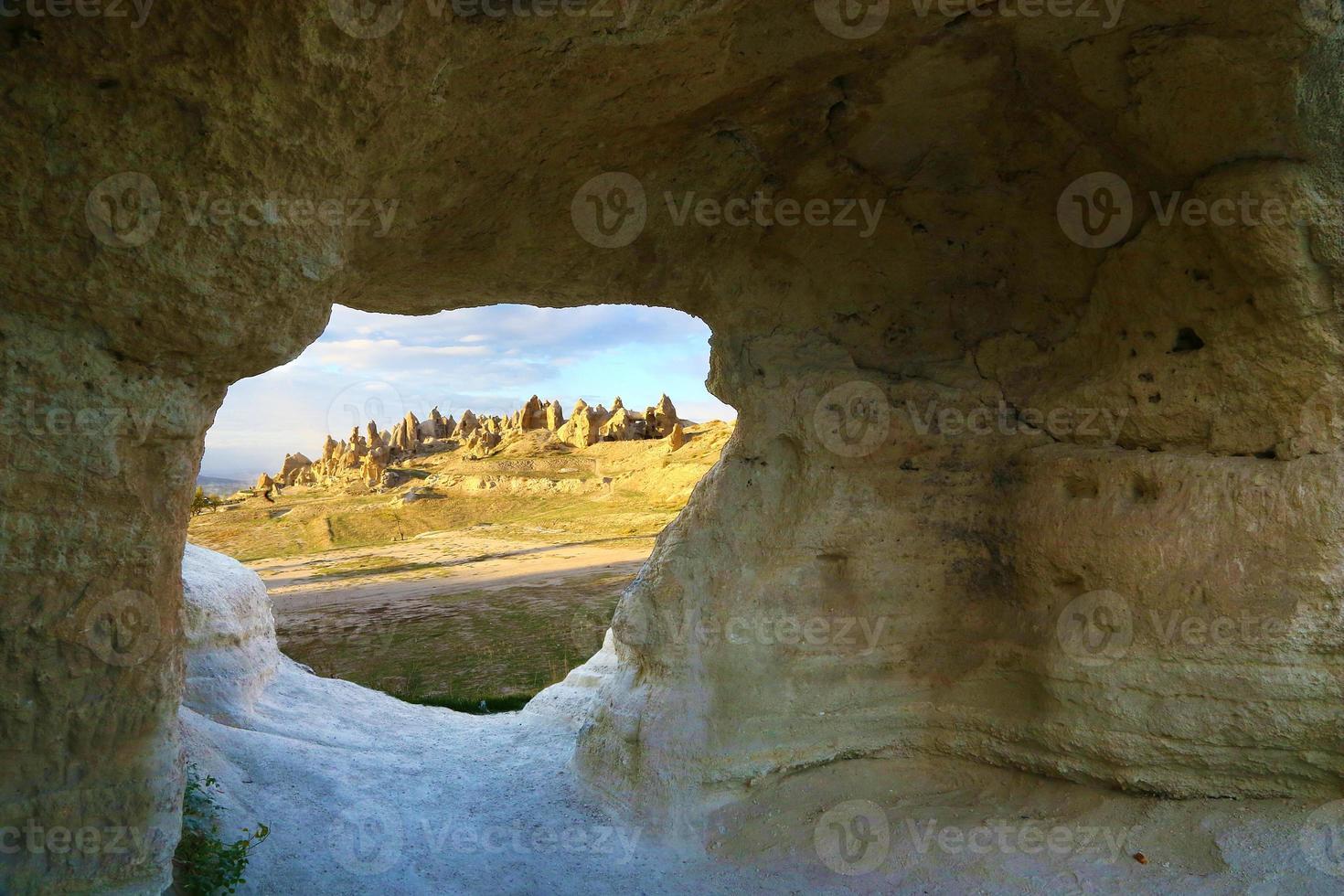Landscape of Cappadocia, Turkey photo
