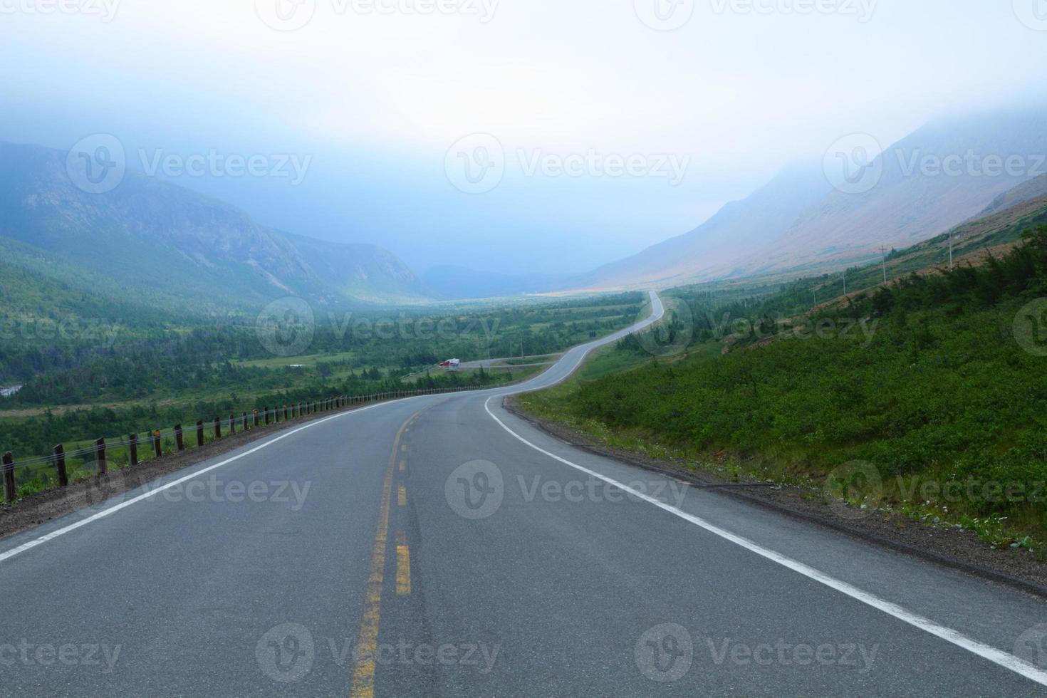 camino de montaña foto
