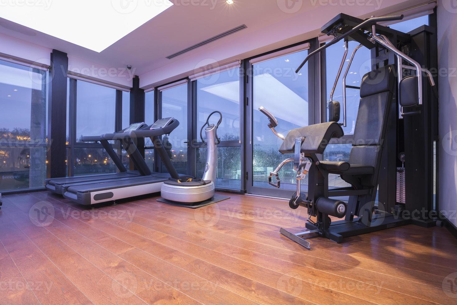 Modern gym interior photo