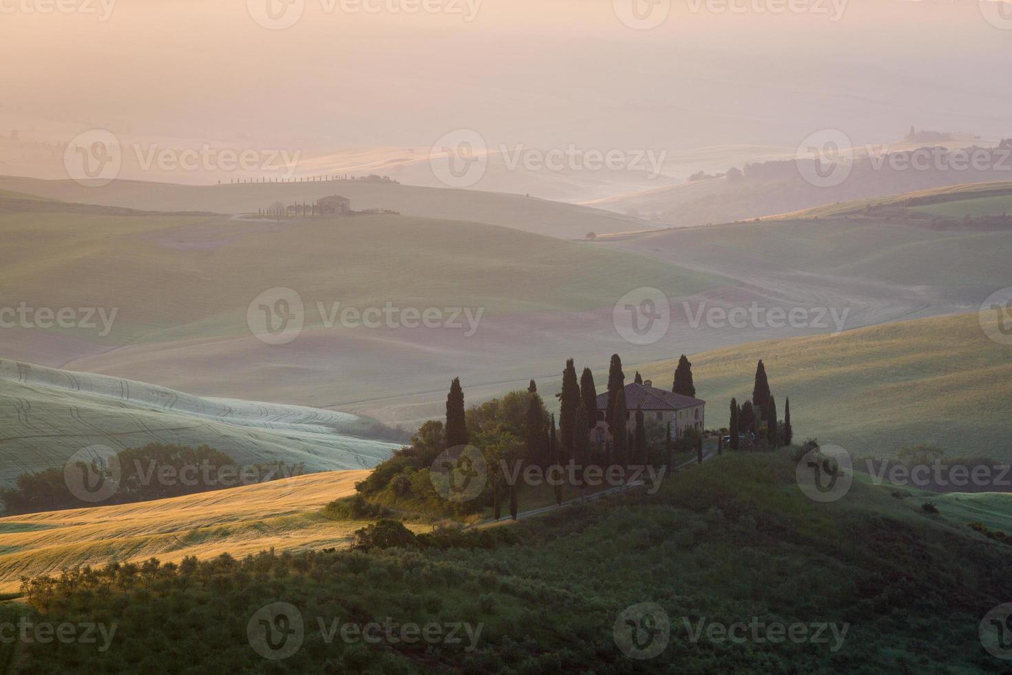 The Tuscan Landscape photo