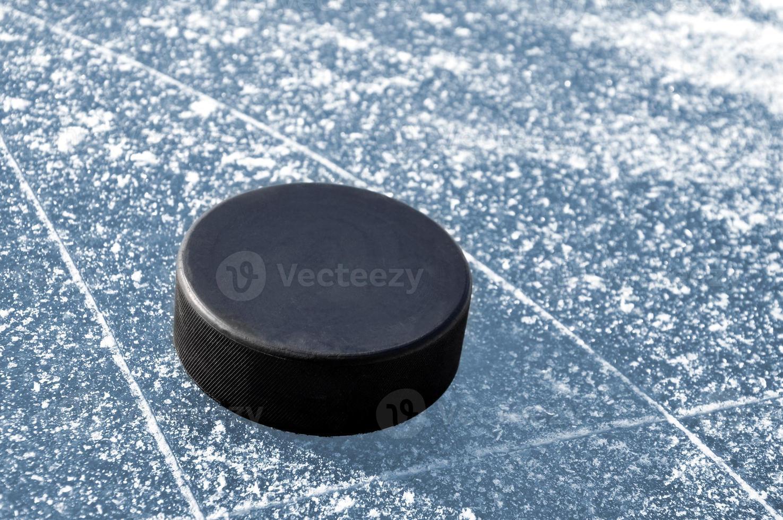 hockey puck photo