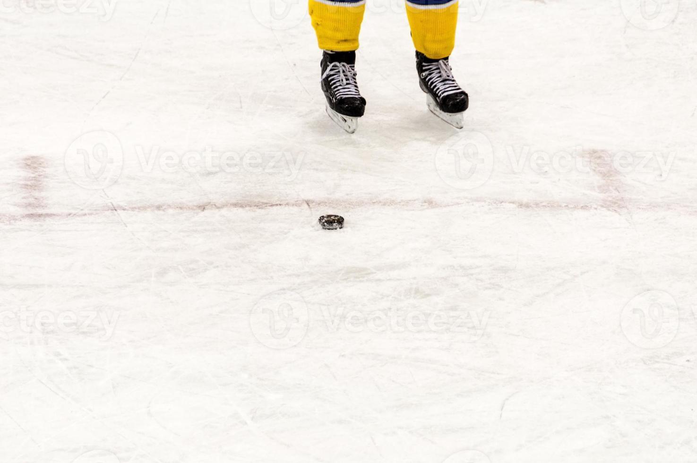 Hockey on ice photo