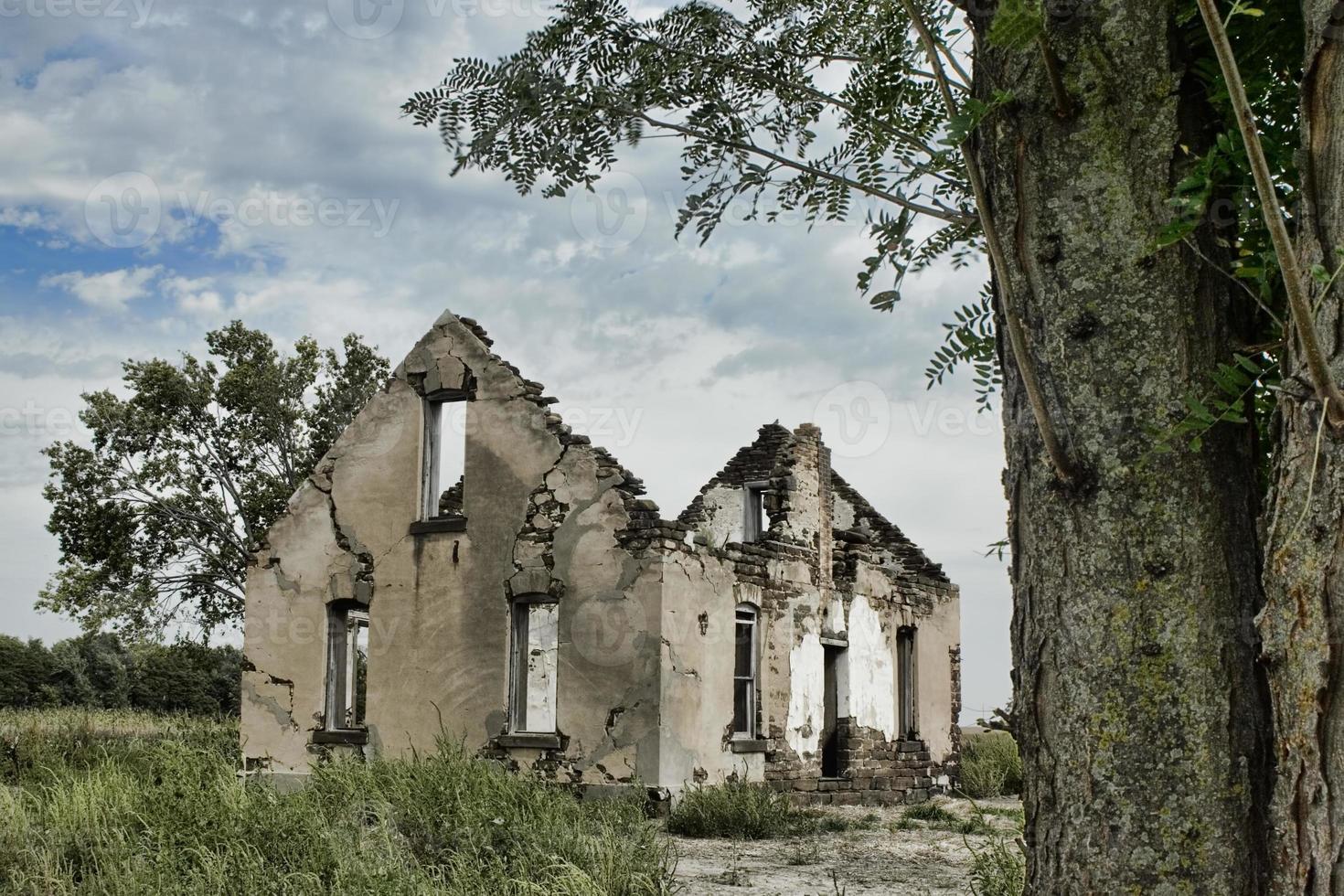 Abandoned House - Kansas photo