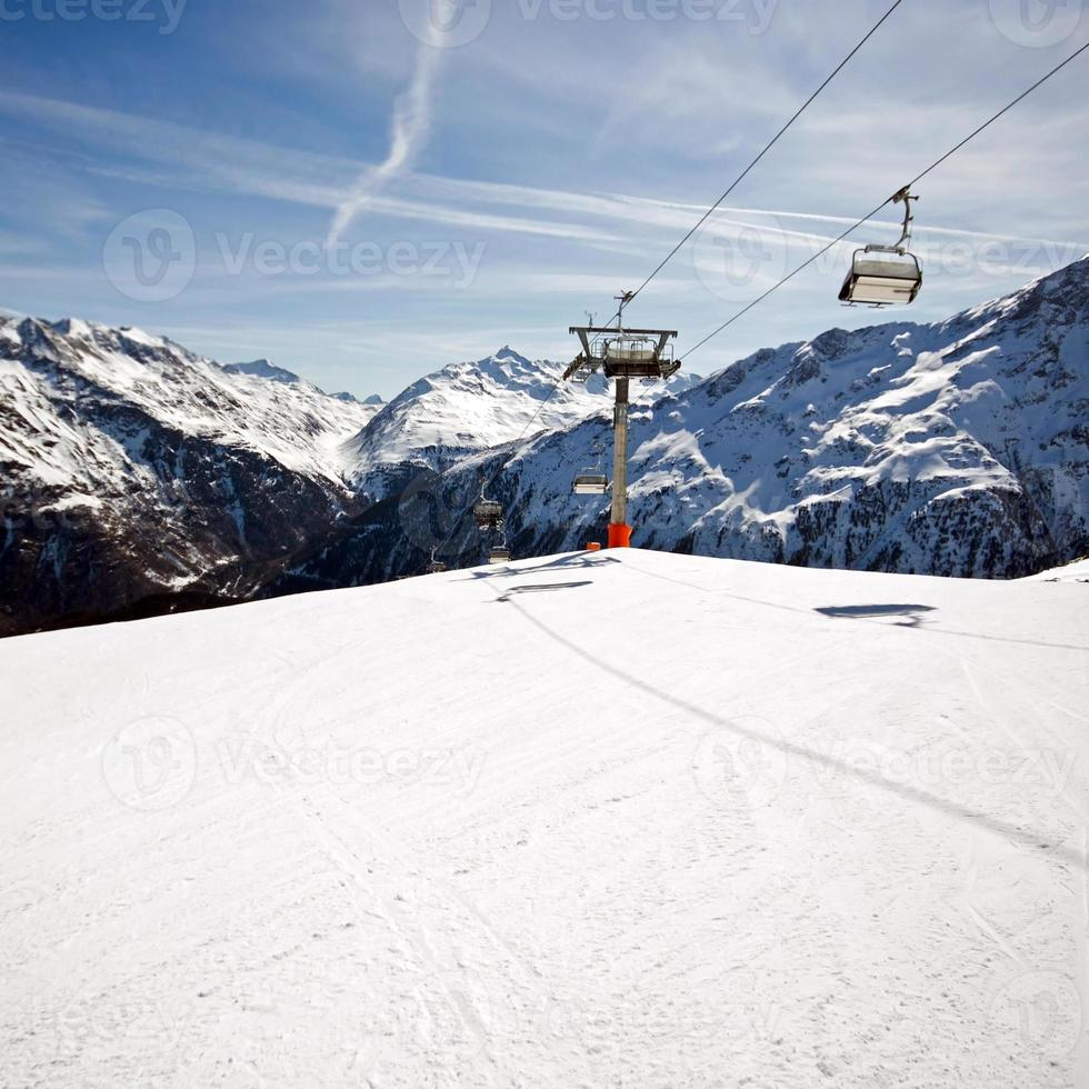 Mountain panorama photo