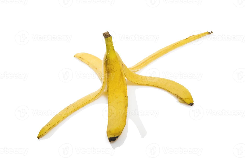 Cáscara de plátano foto