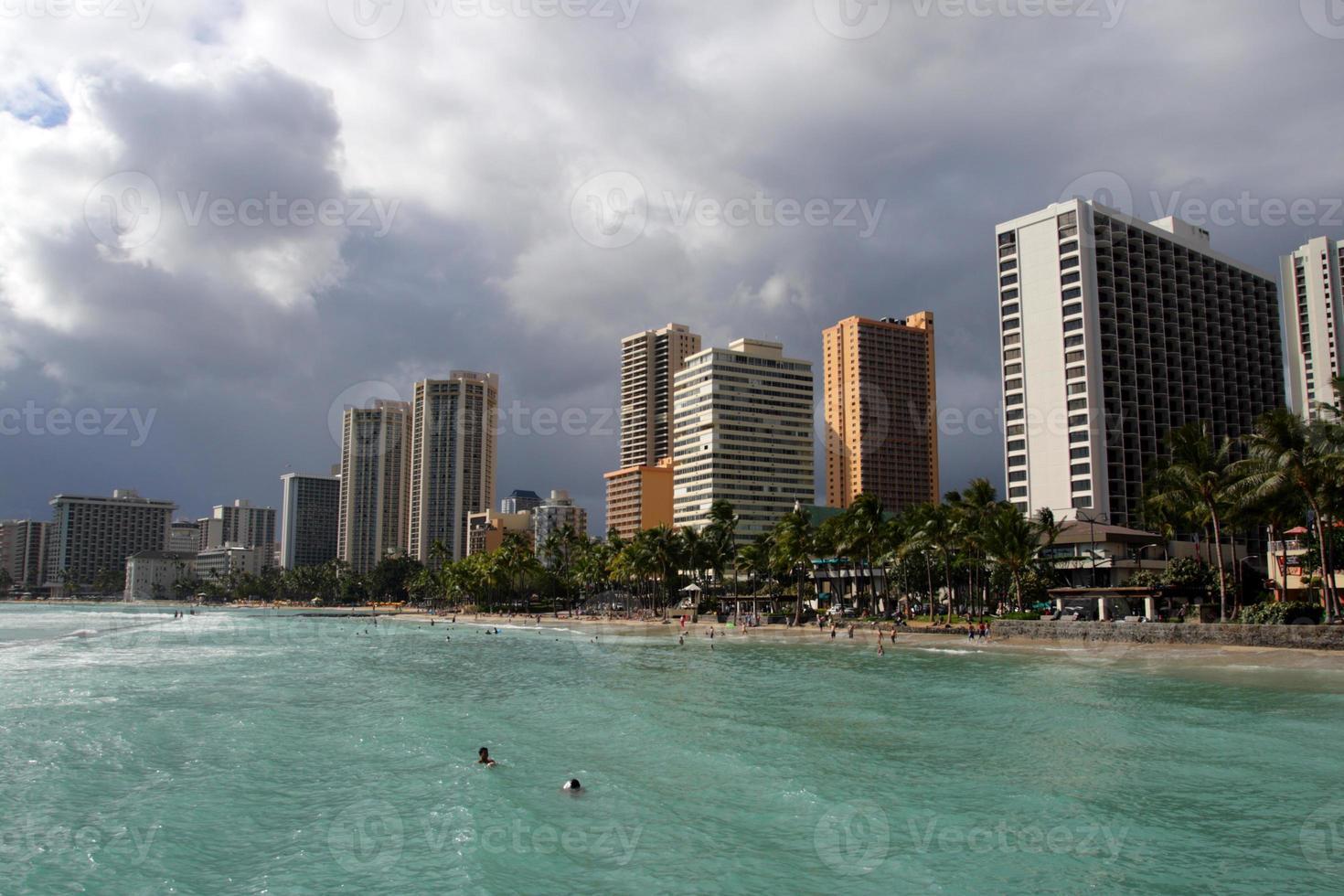 Waikiki Beach, Honolulu, Oahu, Hawaii photo