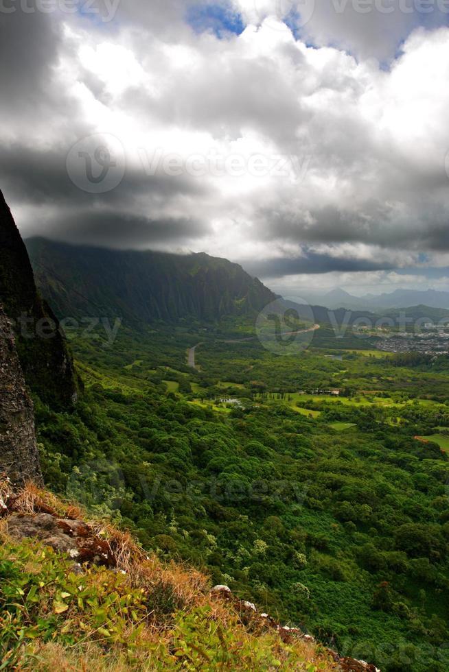 Nuuanu Pali State Park, O'ahu, Hawaii photo