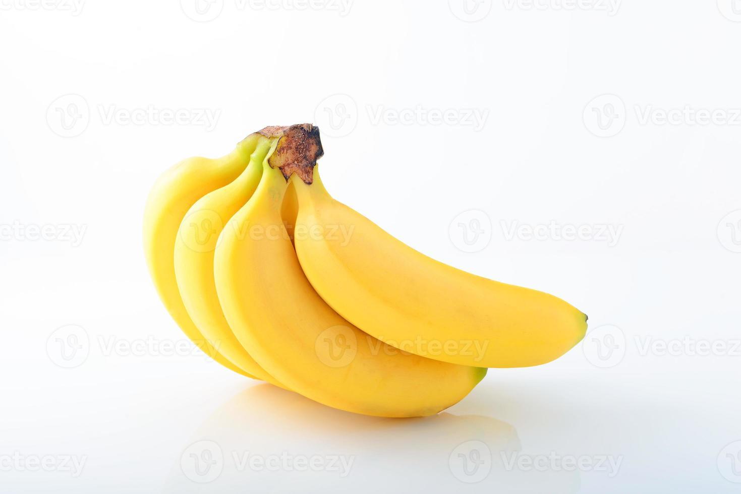 plátanos frescos foto