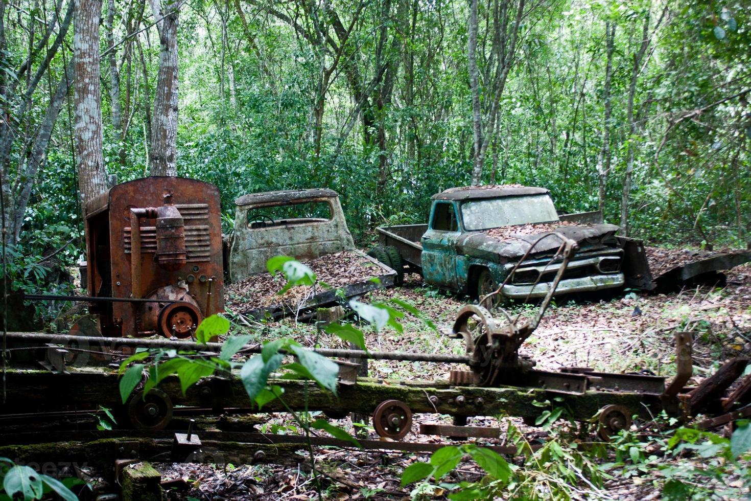 Rusting Cars photo