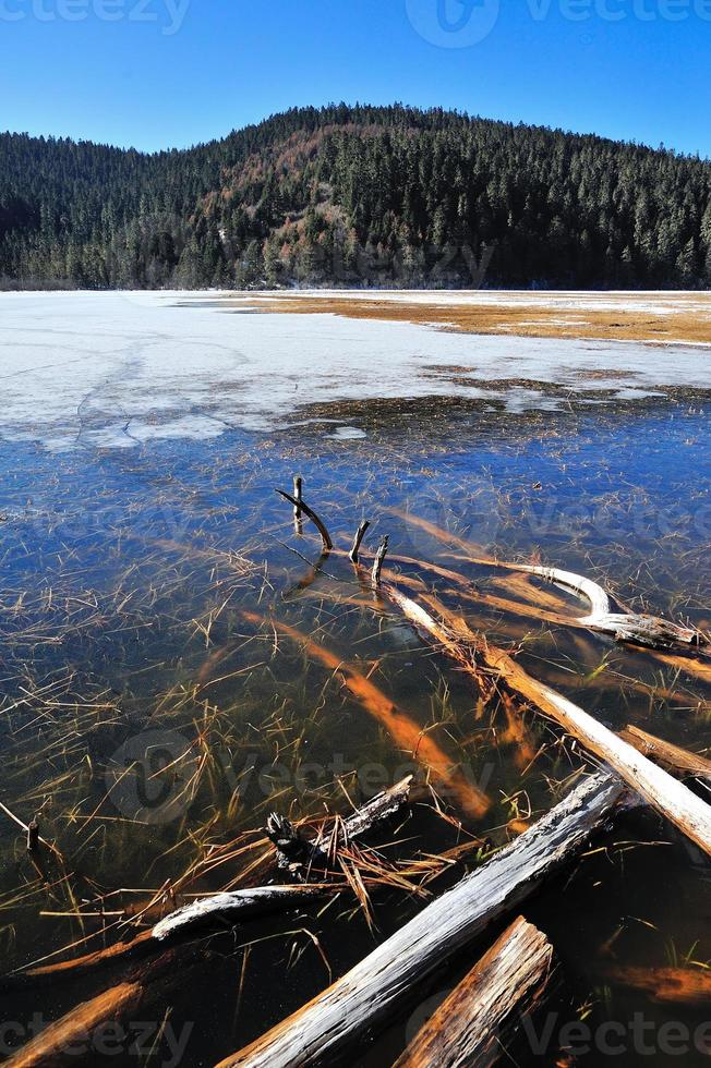 Pudacuo frozen Lake photo