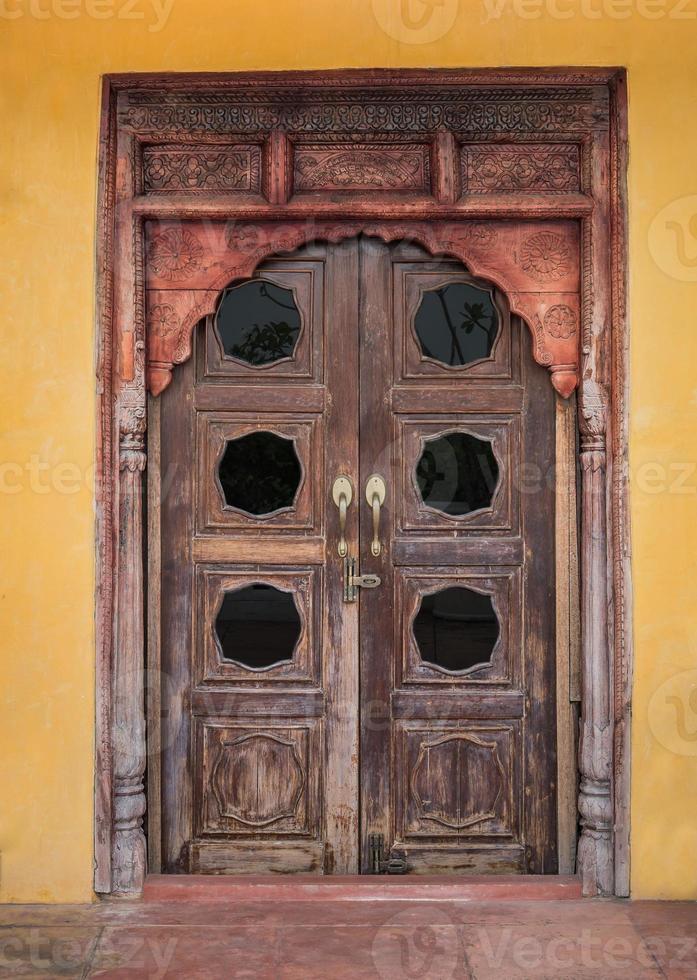 Indian door photo
