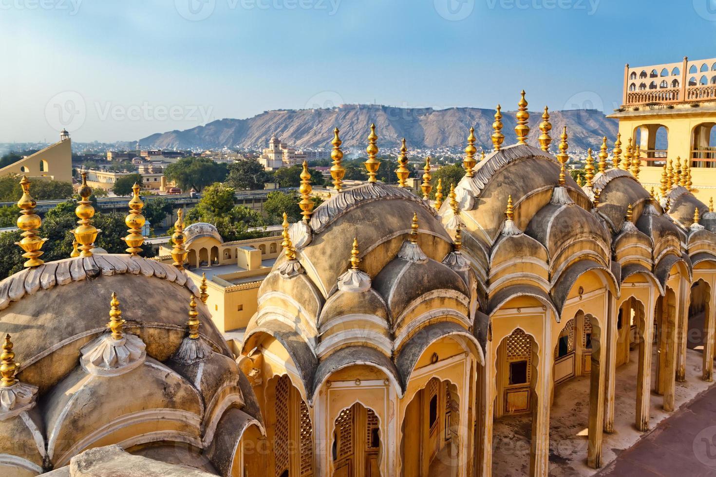 palacio de la ciudad de jaipur foto