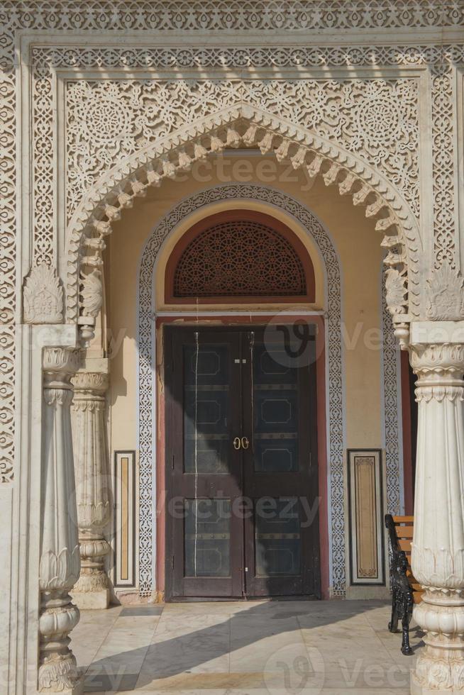 complejo del palacio de la ciudad en jaipur foto