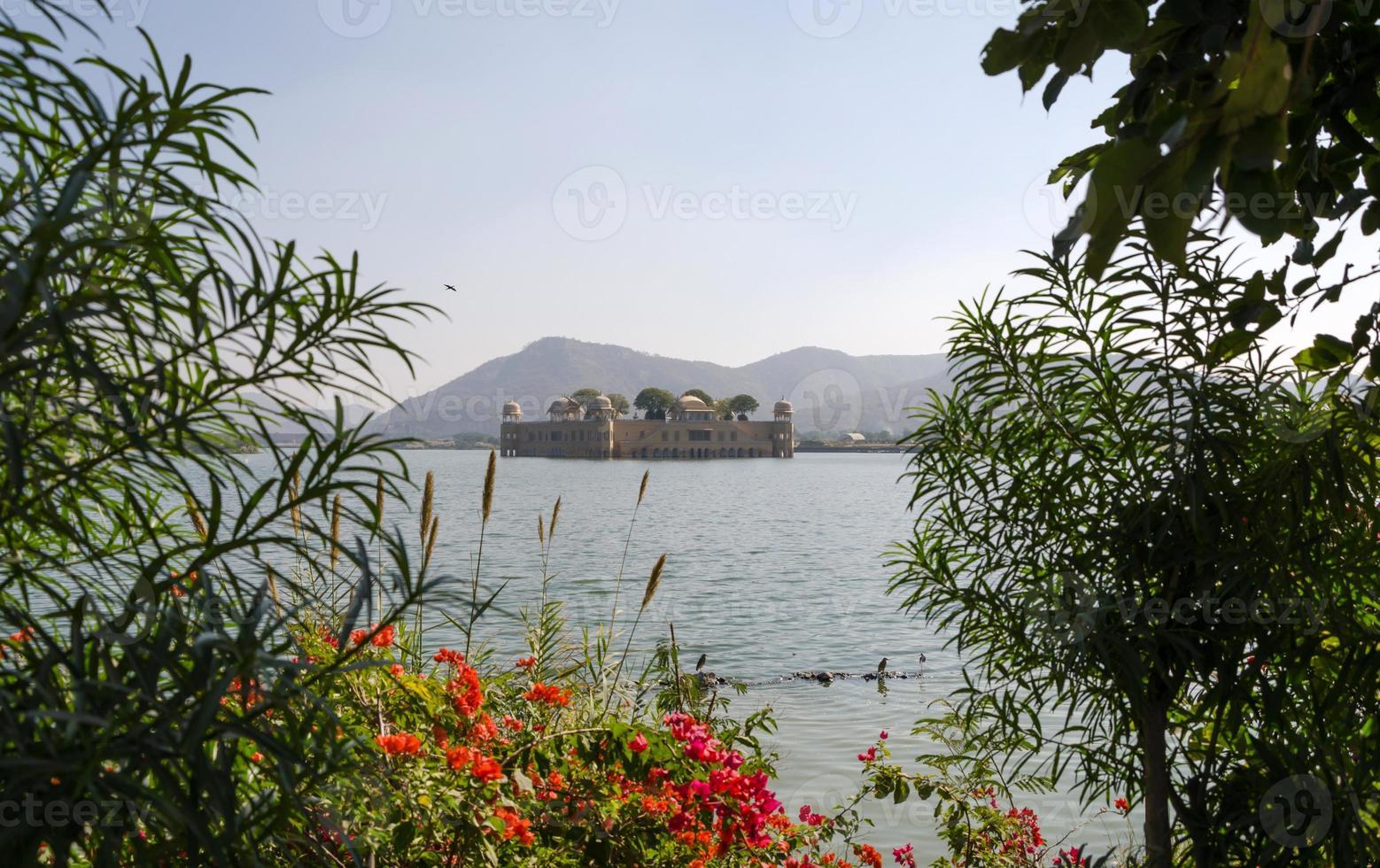 Jal Mahal in Man Sagar Lake photo