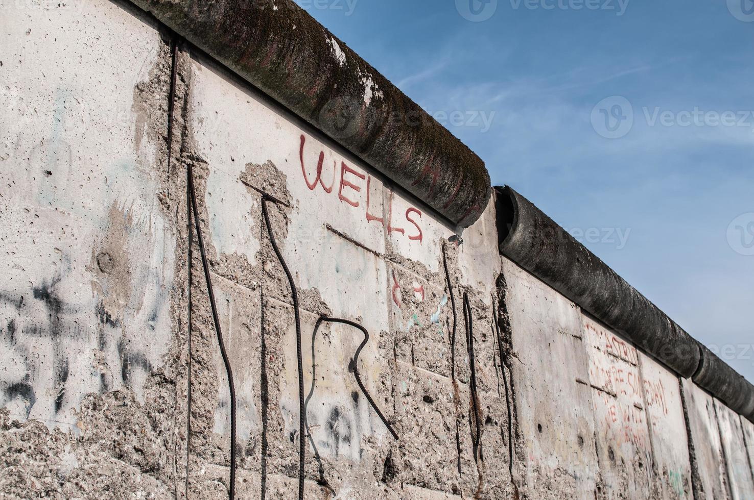 muro de Berlín foto