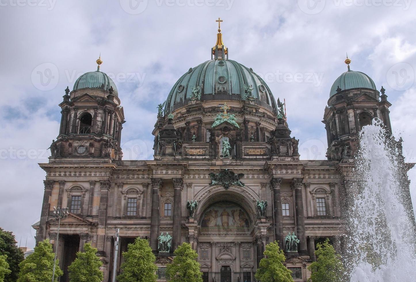 berliner dom en berlin foto