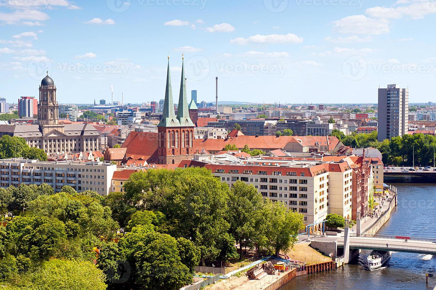 cityscape of Berlin photo