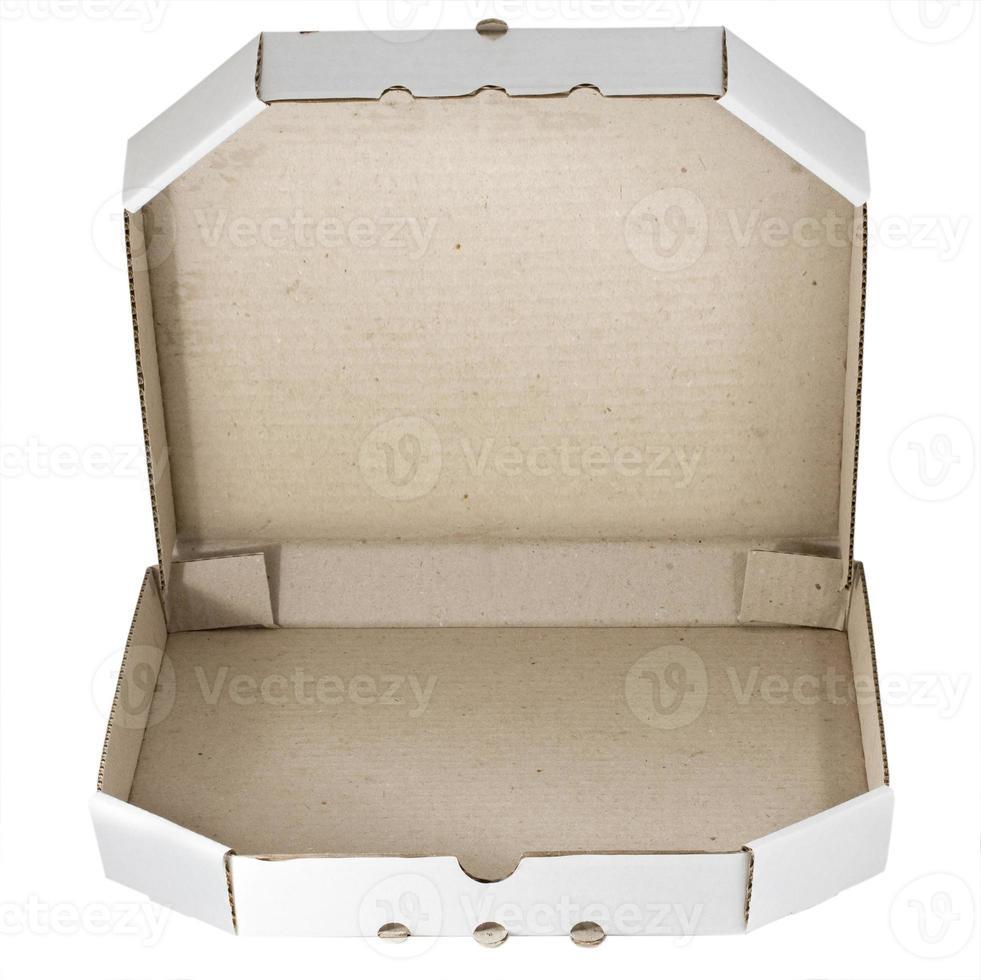 Pizza carton box photo
