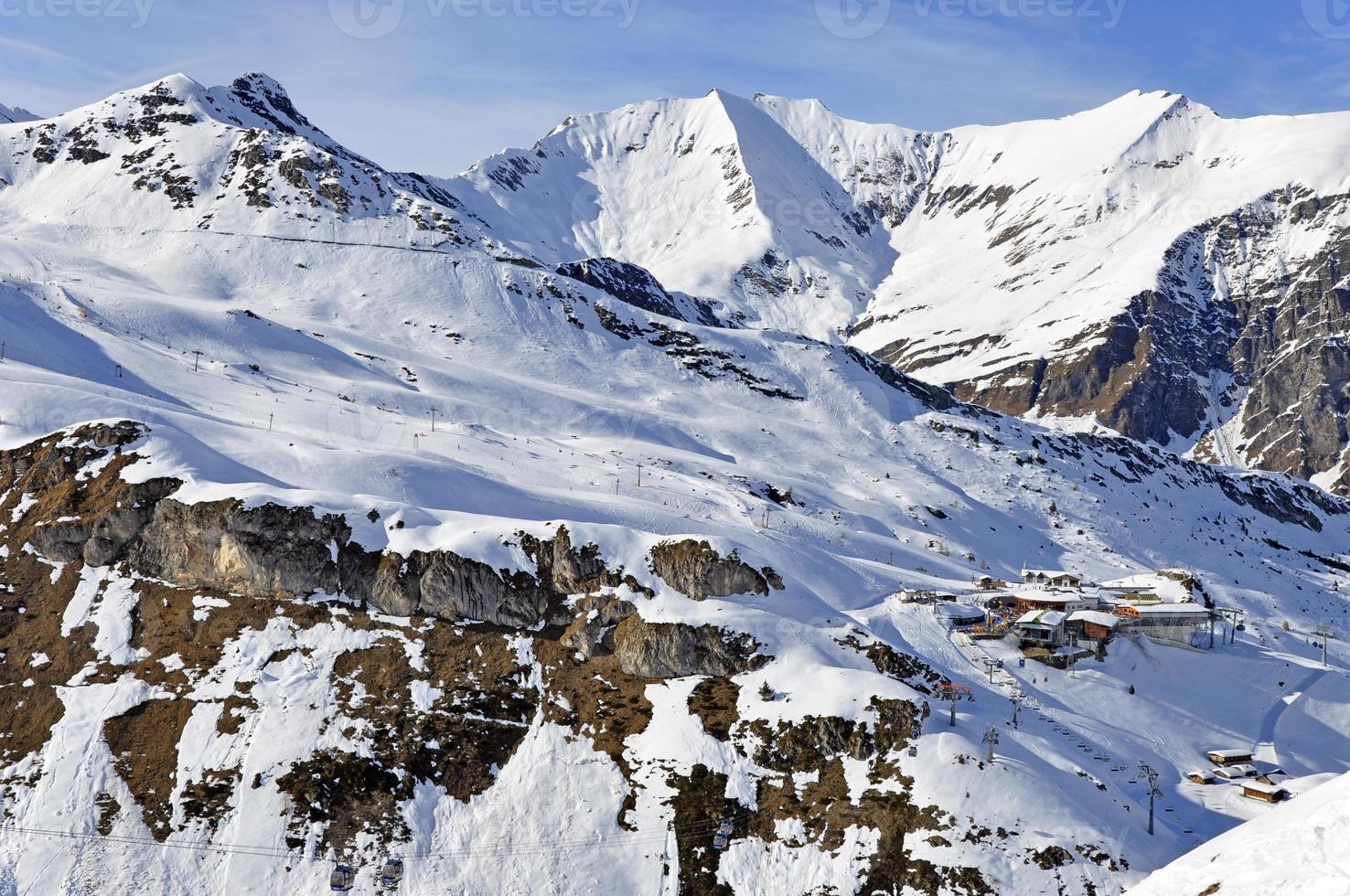 Ski station near Hintertux Glacier photo