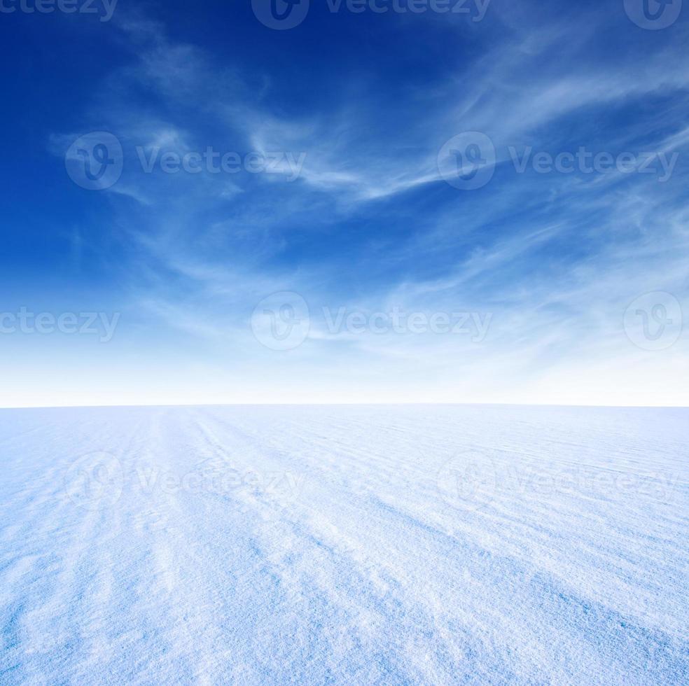 montaña de nieve foto