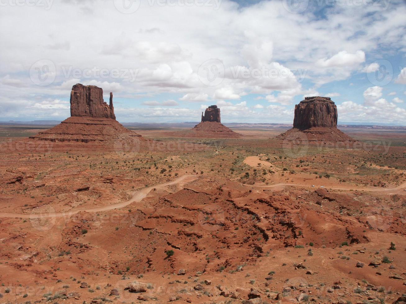 valle del monumento - mitones foto