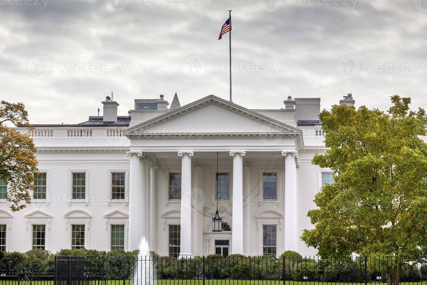 White House Pennsylvania Ave Washington DC photo