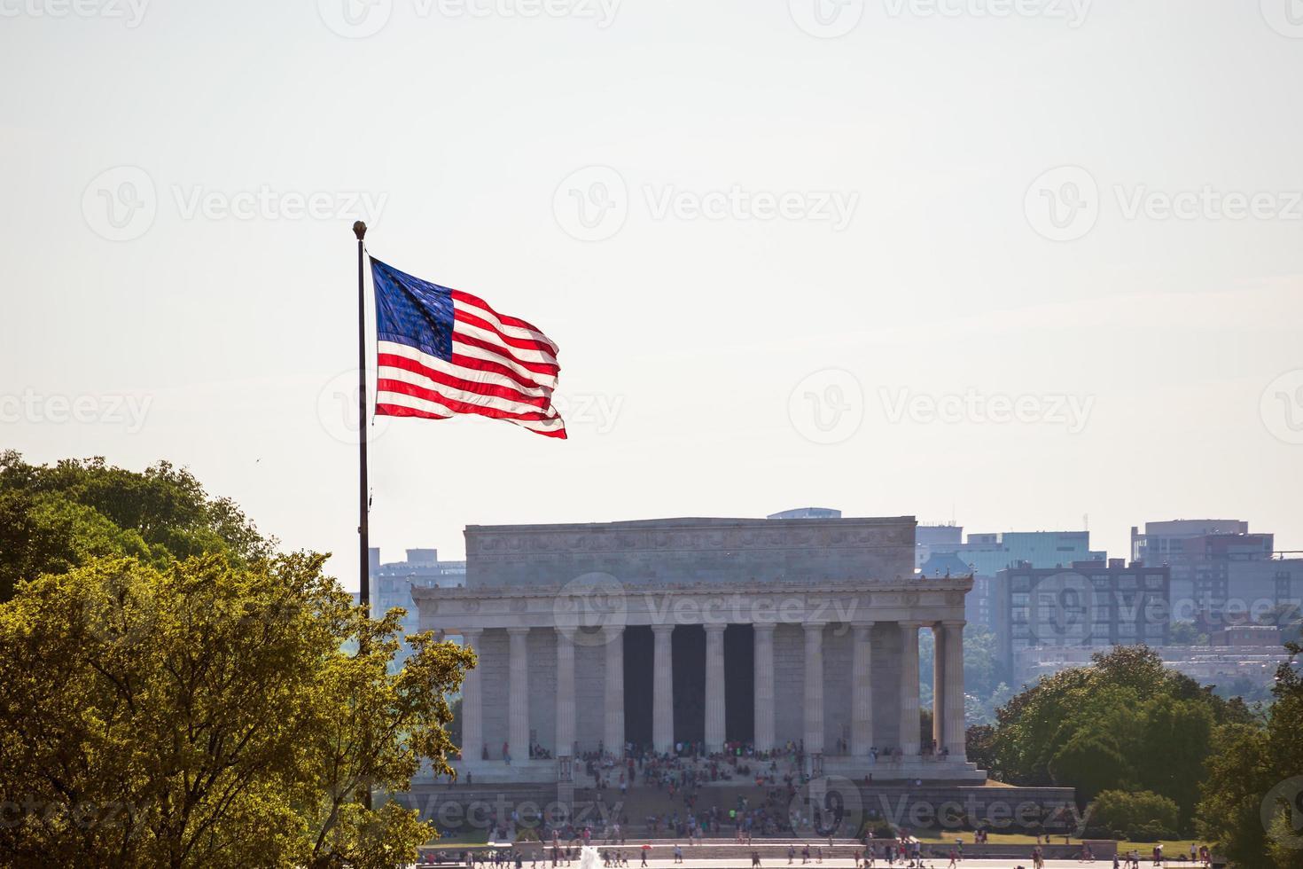 Abraham Lincoln Memorial building Washington DC photo