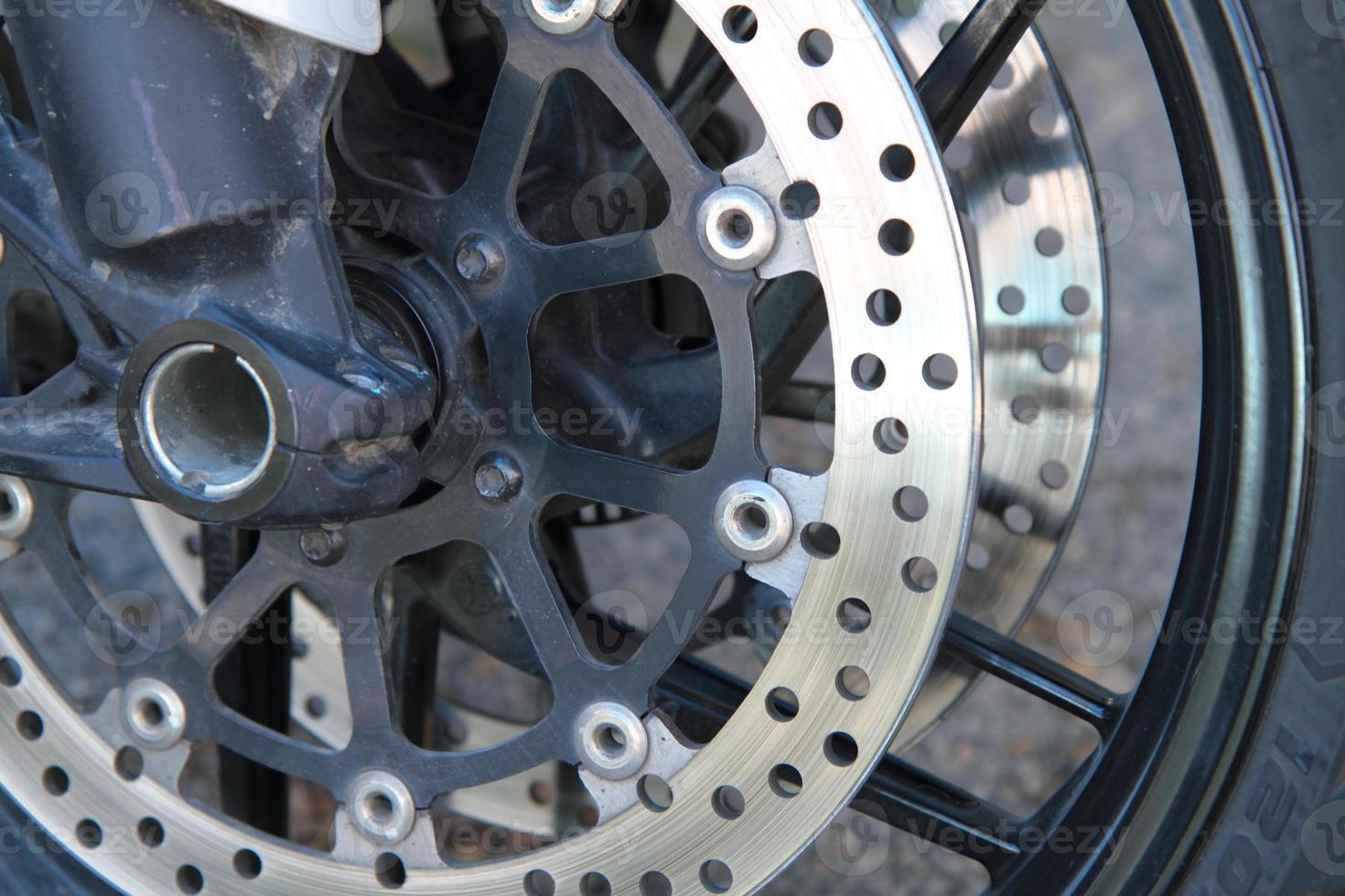 rotura de disco de moto foto