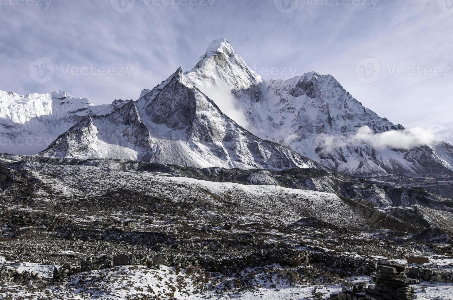 Ama Dablam. Nepal foto
