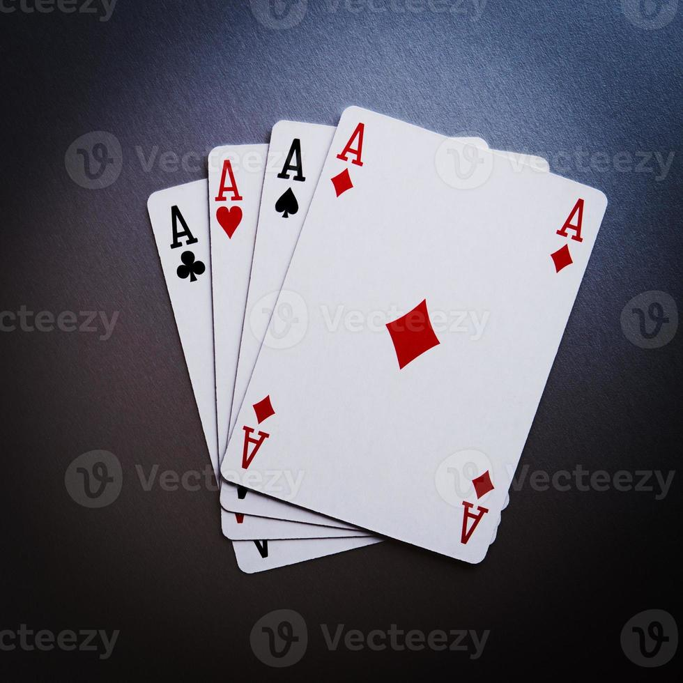 poker cards aces photo