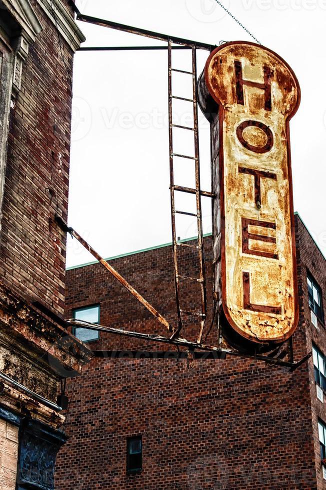 señal de hotel foto