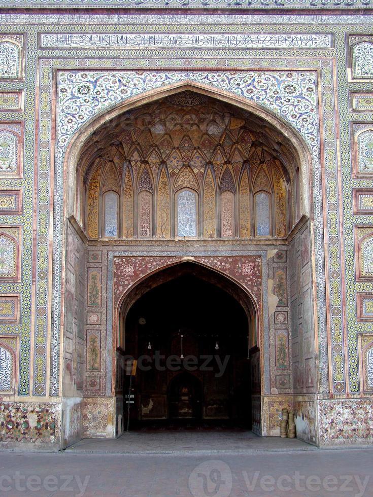 Mezquita Wazir Khan, Lahore, Pakistán foto