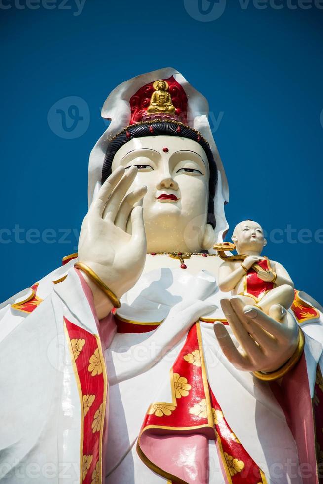 guan yin (la diosa de la misericordia) foto