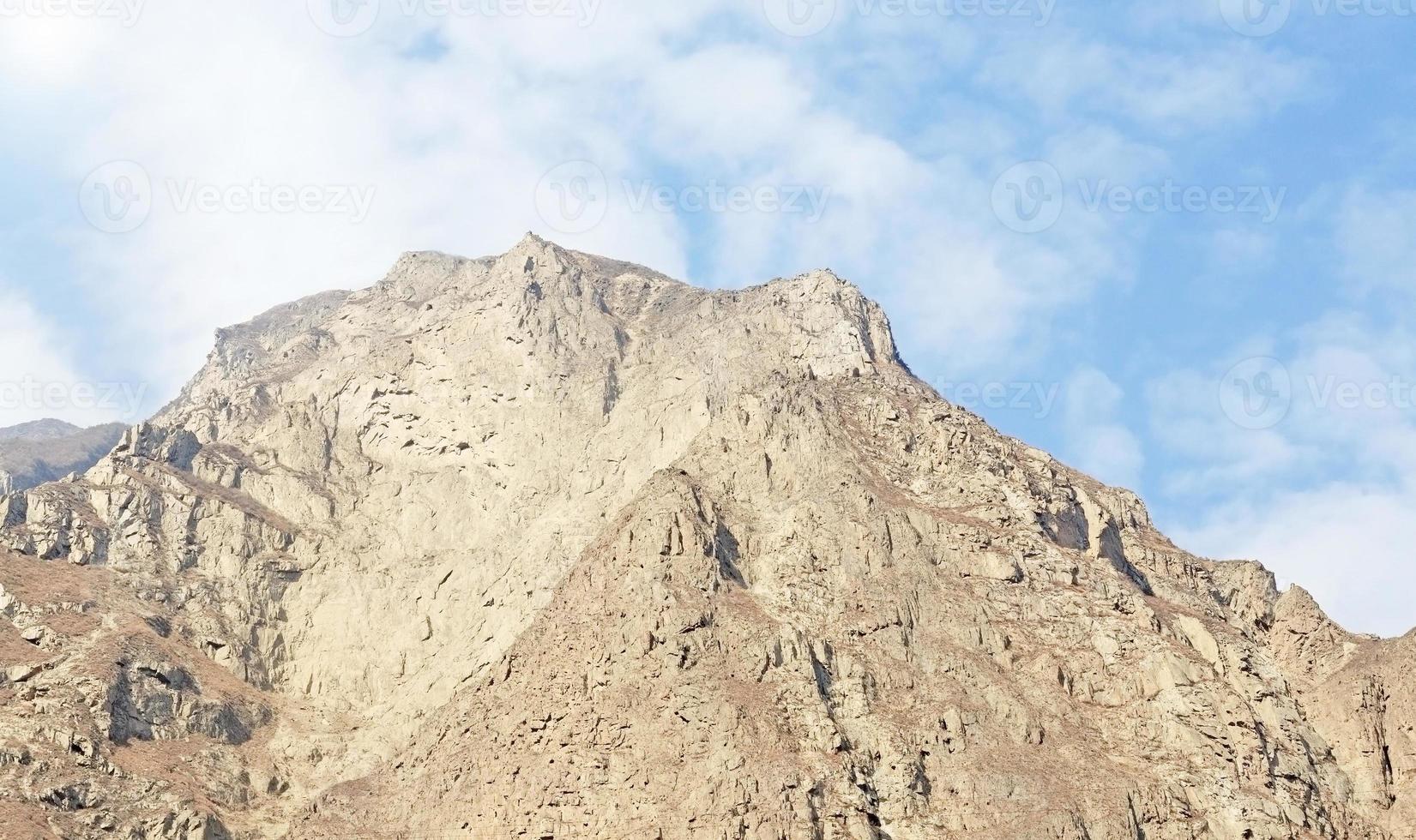 dongyuan mountain in lixian,china photo