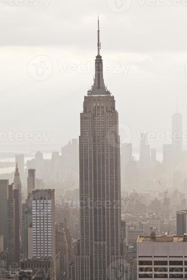 Empire State Building en Manhattan foto