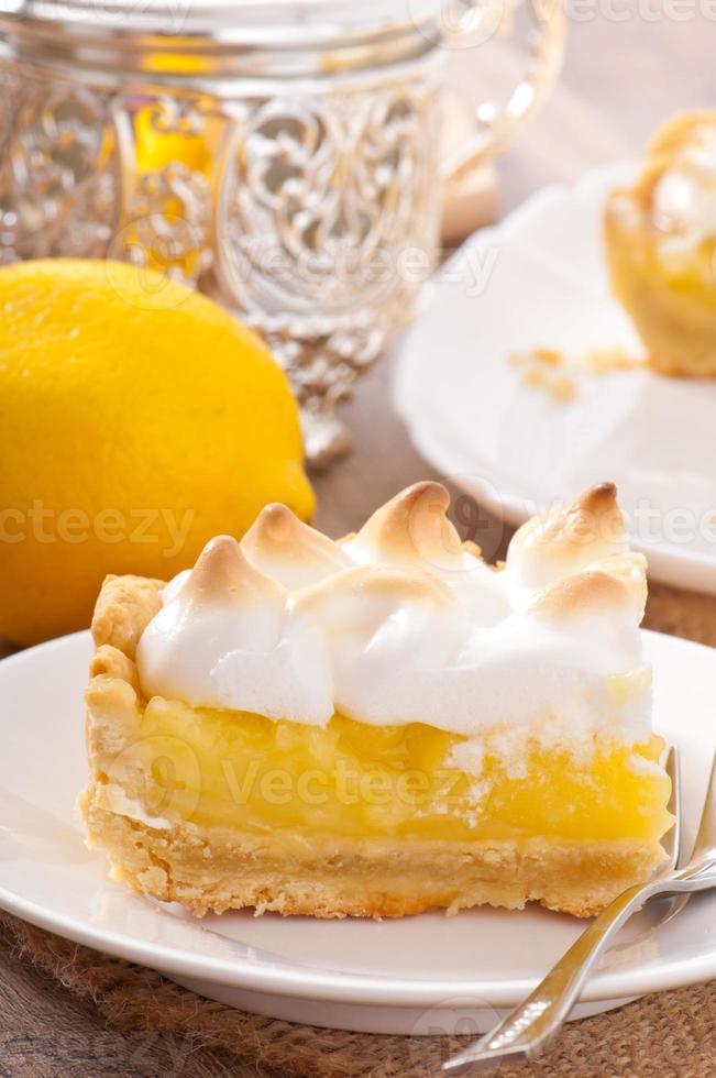 pastel de limón americano foto