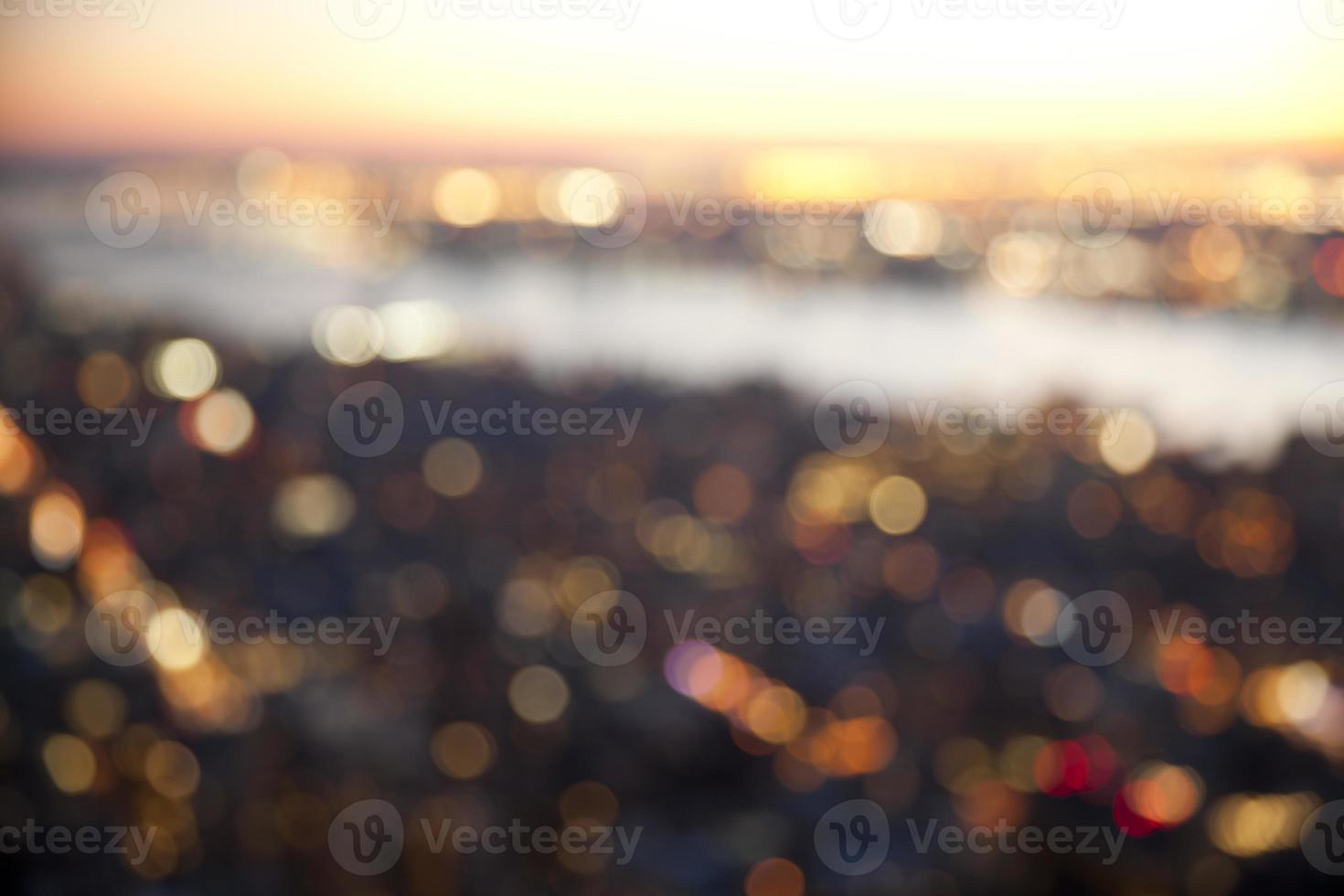 Bokeh lights background photo
