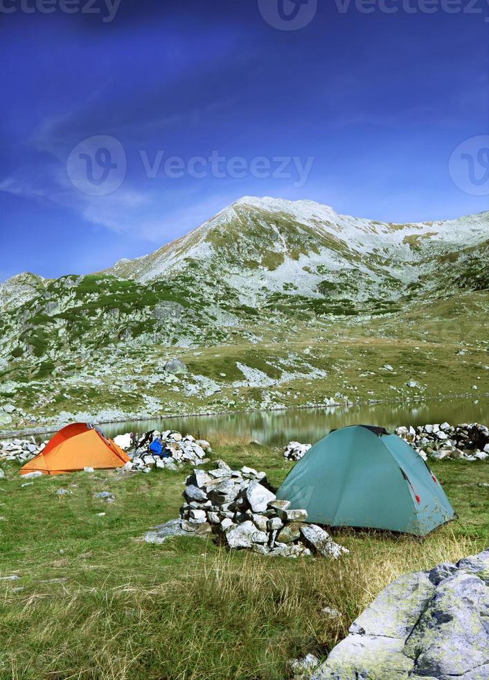 campamento base foto
