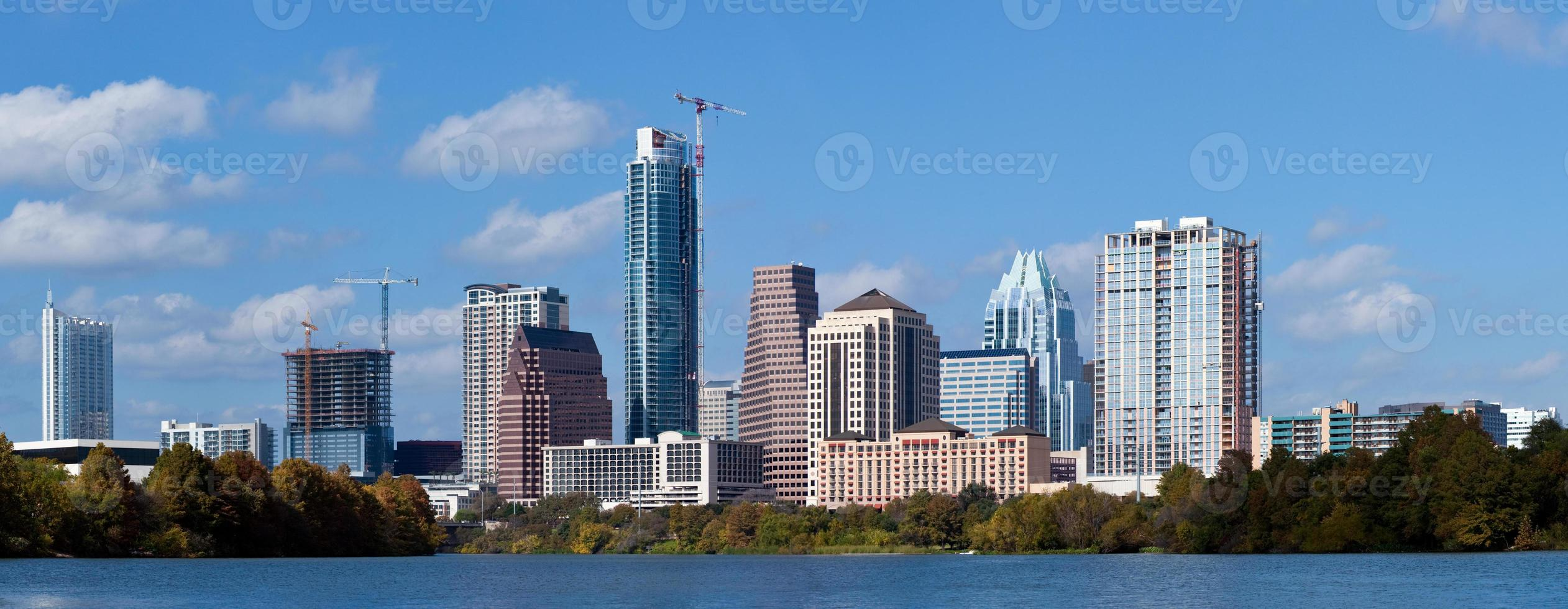 Austin, horizonte de texas foto