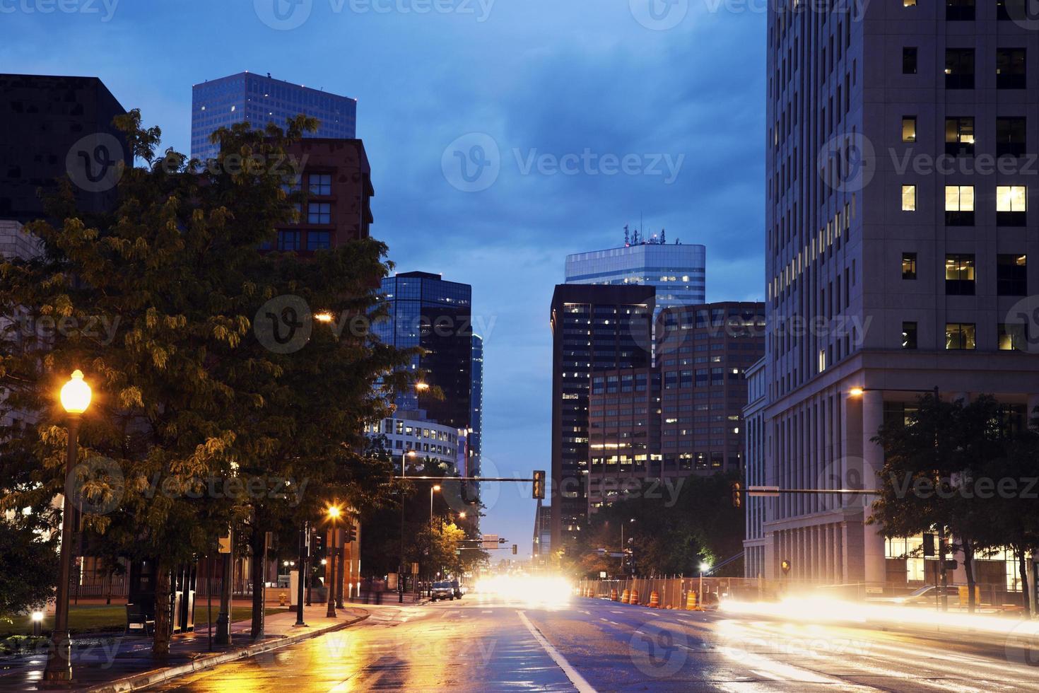 Denver - street traffic photo