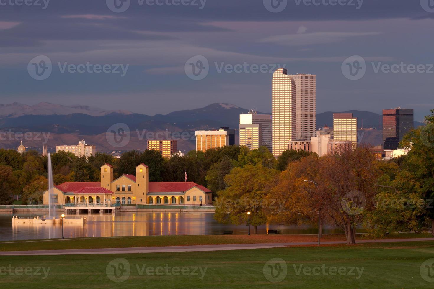 Start of the morning at Denver's City Park photo