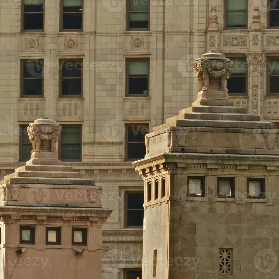 Chicago-Wrigley Building, architecture, gros plan photo