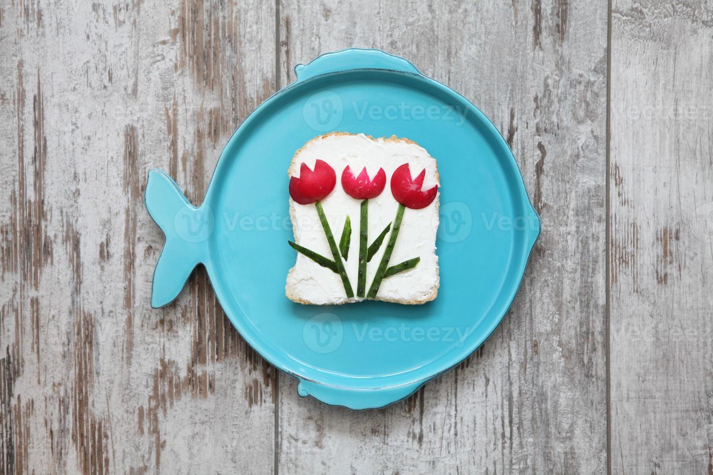 nourriture créative pour enfants photo