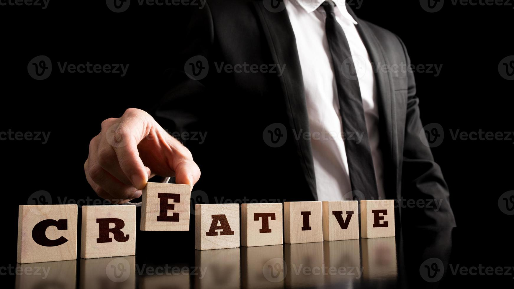 Simple Creativity in Business Concept photo