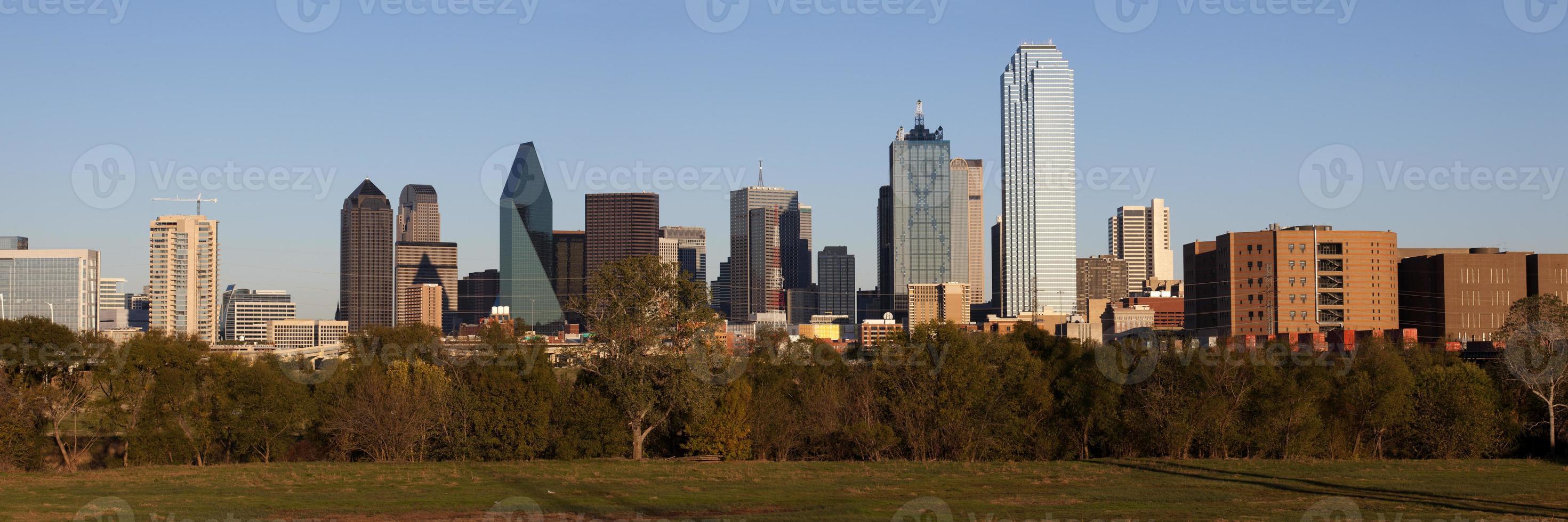 horizonte de dallas texas foto