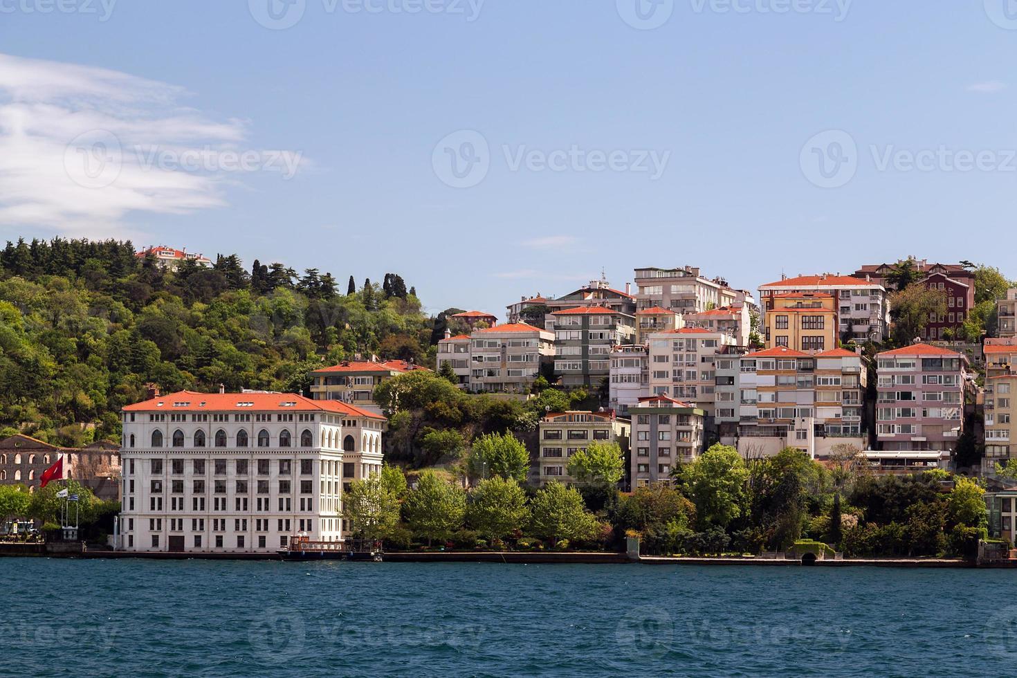 Istambul Bósforo, Turquia. foto